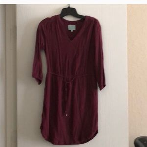 Skies are Blue maroon xl dress worn once